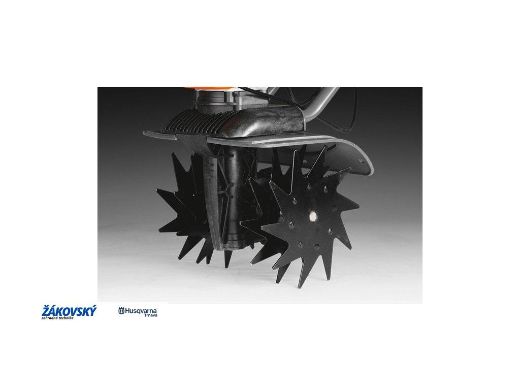 Prevzdušňovač / prerezávač trávnika pre kultivátor T300RH Compact Pro