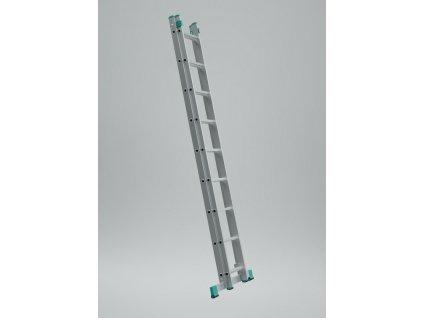 Rebrík dvojdielny univerzálny 7509 PROFI