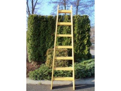 2804 Drevený rebrík dvojdielny /ŠTAFLE/ HOBBY