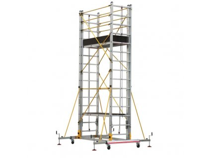 Lešenie teleskopické ovládané lanami TeleSafe XL