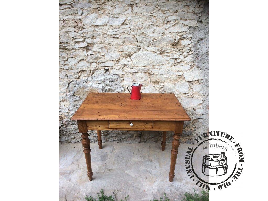 Venkovský stůl se šuplíkem Venkovský stůl se šuplíkem IMAG0198 7f9f401b62