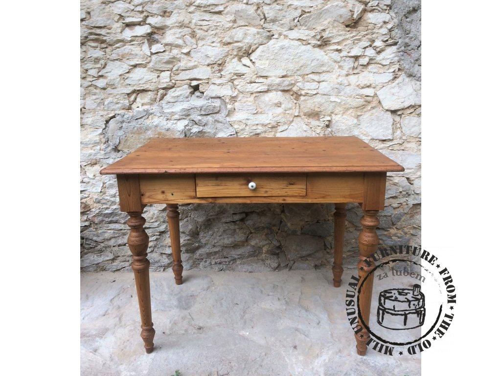 Venkovský stůl se šuplíkem a42c02ac6f