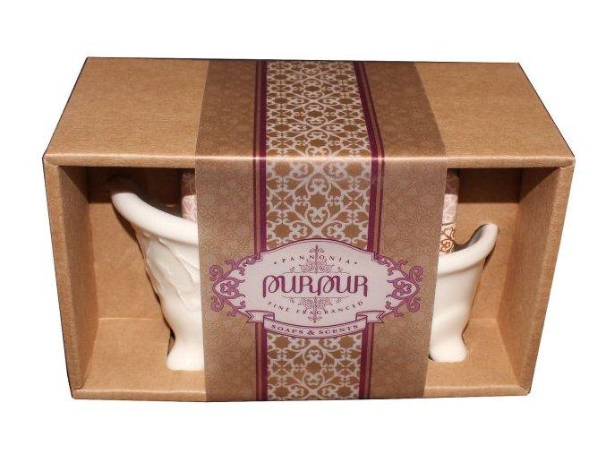 darkove baleni mydlo pro zeny vanička s mýdlem