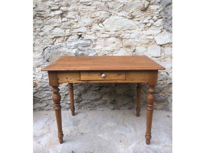 Venkovský stůl se šuplíkem