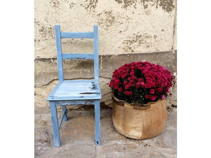 Židle - modrá