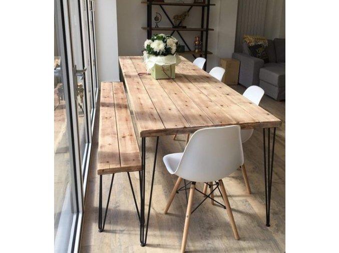 lavice a stůl brussel