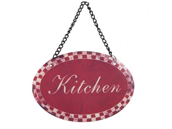 cedulka na řetízku kitchen