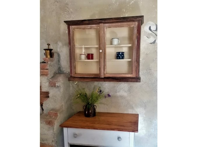 Skleníková skříňka - ze starého okna