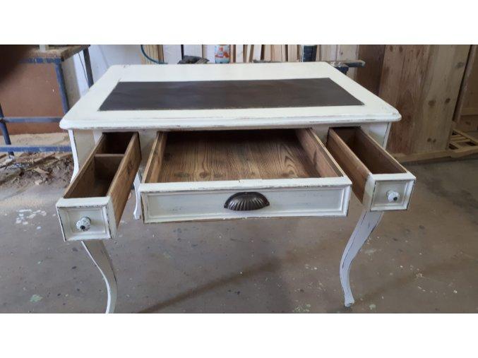 Pracovní / psací stolek se 3 mi šuplíky