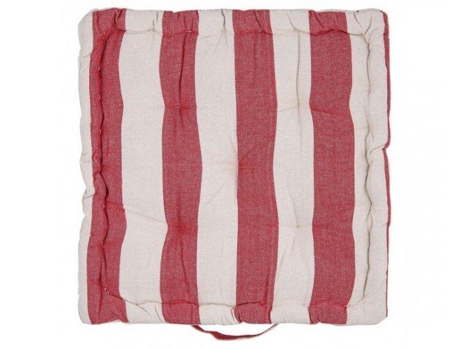 cerveny podsedak s vyplni 40408 cm