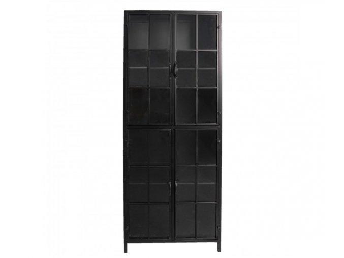 kovova vitrina black 6043171 cm