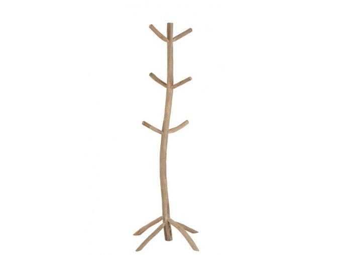 dreveny volne stojici vesak s 6 ti hacky teak 4253183 cm