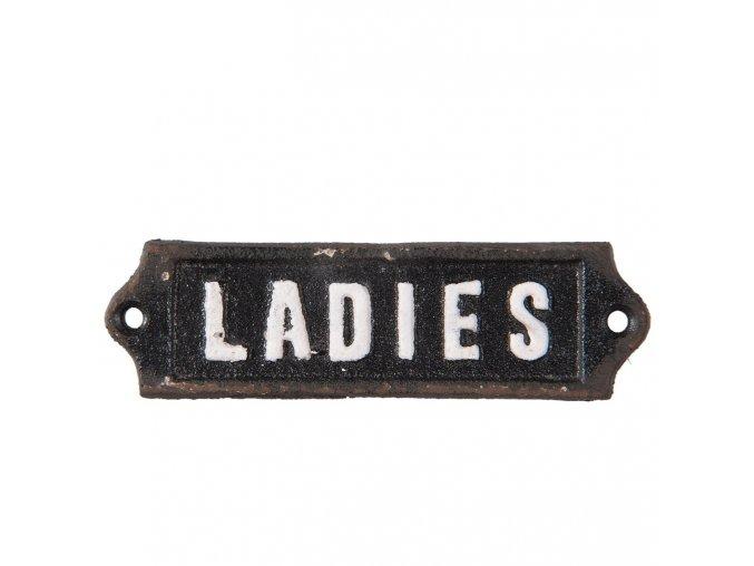 kovova cedulka ladies 1213 cm