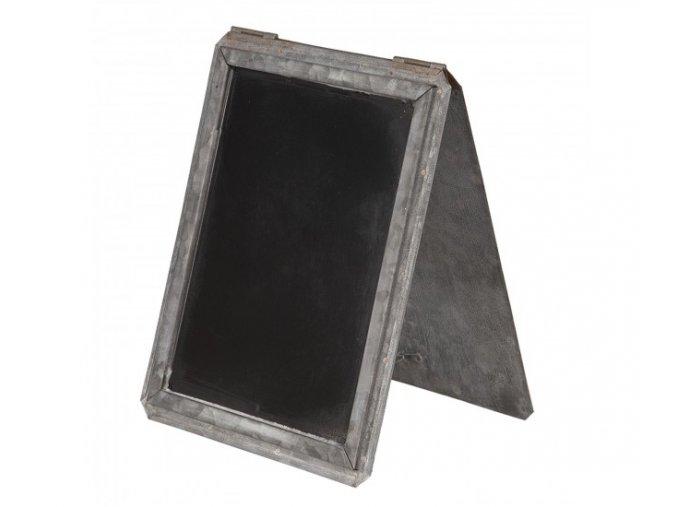 kridova tabule v plechovem stojanu tole 16224 cm