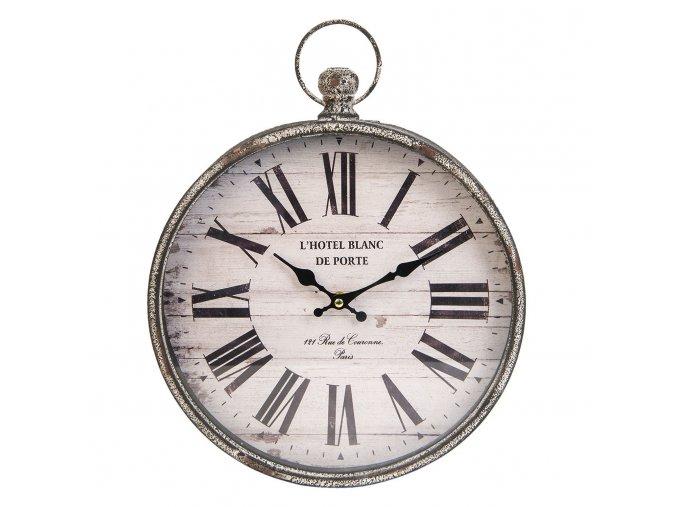 kovove hodiny l hotel blanc de porte 30639 cm