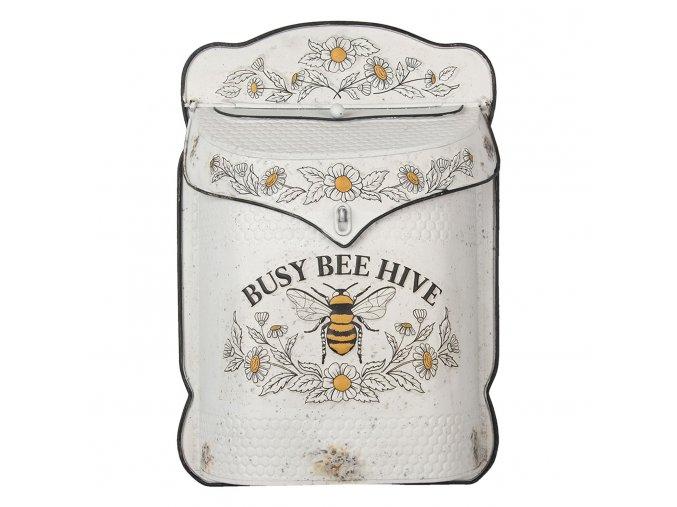 kremova retro postovni schranka s vcelou bee hive 27839 cm