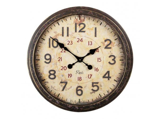 hnede kulate nastenne hodiny paris o 5011 cm