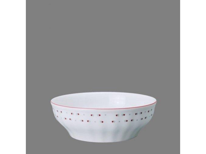 Babiččin porcelán - růžokvítky - salátová mísa 19 cm