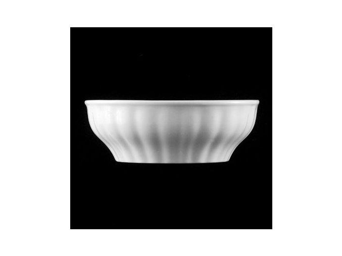 Jemnost venkova - bílá porcelánová mísa - 6 velikostí