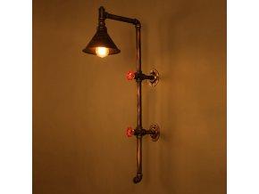 lampa vysoká na zeď