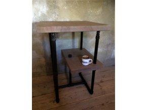 Industriální odkládací stolek