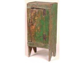 skříňka primitive zelená