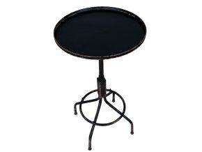 odkládací stolek kov kupatý