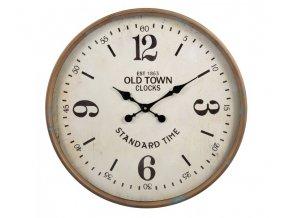 kovove kulate hodiny old town o 60660 cm