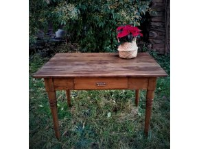Venkovský stůl se šuplíkem - SPOLU S .....