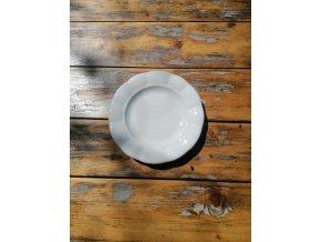 ...Venkovská klasika - tlustostěnný dezertní talíř