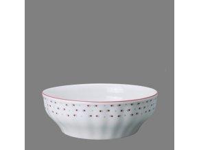 Babiččin porcelán - růžokvítky - salátová mísa 22 cm