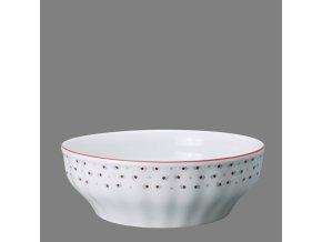 Babiččin porcelán - růžokvítky - salátová mísa 24 cm