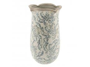 dekoracni vaza retro flower o 1428 cm