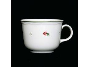 hrnek na čaja červená 35cl