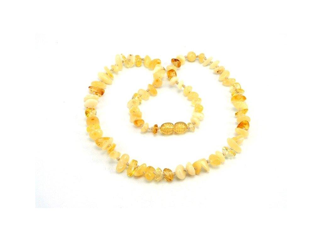1 z 2. gk2882. Jantarový náhrdelník délka 42cm 8b3c05ac975