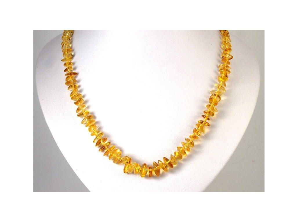 gk7817. Jantarový náhrdelník délka 50cm 91b061b7240