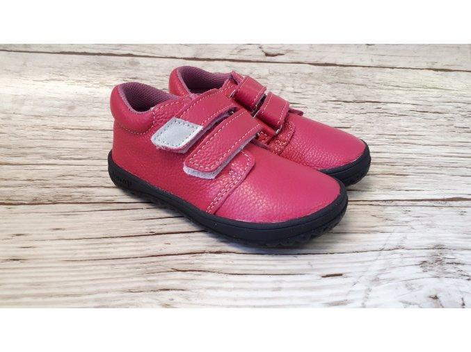 Dětské celoroční boty Jonap B1MV růžová NEW - suchý zip