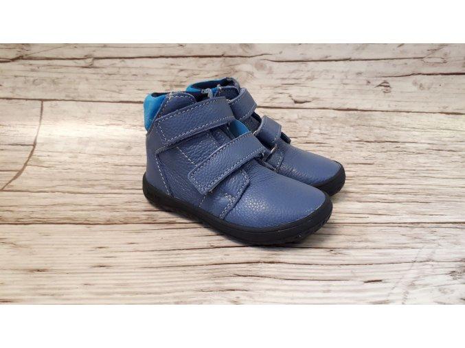 Dětské celoroční boty Jonap B2MV modrá NEW - suchý zip