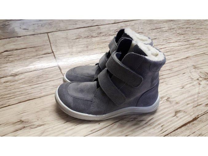 Baby Bare Febo winter Grey velour