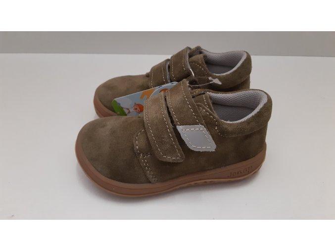 Celoroční barefoot obuv Jonap B1SV khaki SLIM