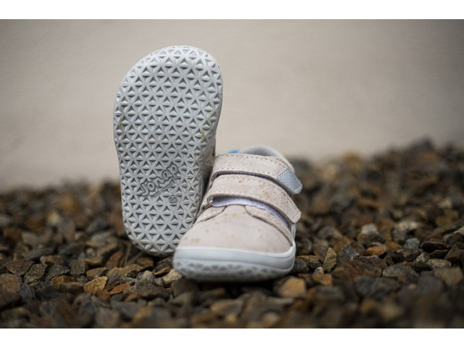 Celoroční barefoot obuv Jonap B1SV zlatá