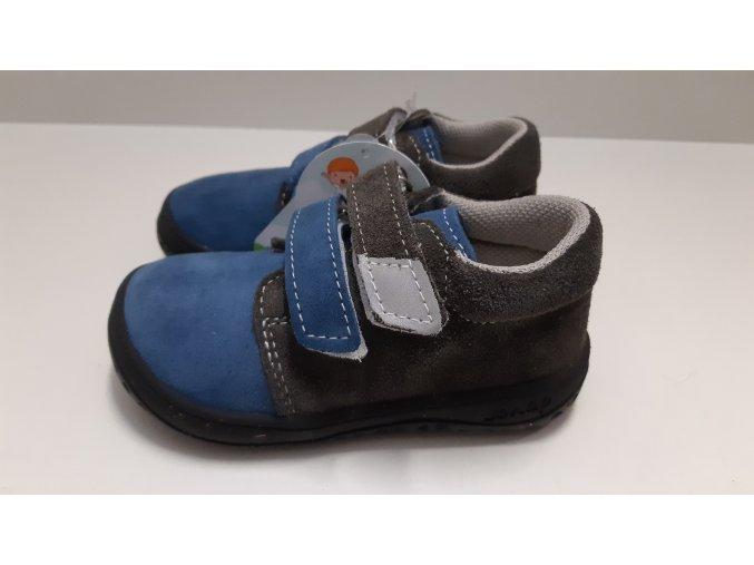 Celoroční barefoot obuv Jonap B1SV modro šedá
