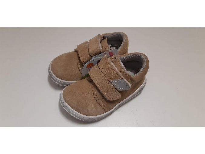 Dětské celoroční boty Jonap B1MV capucino NEW - suchý zip