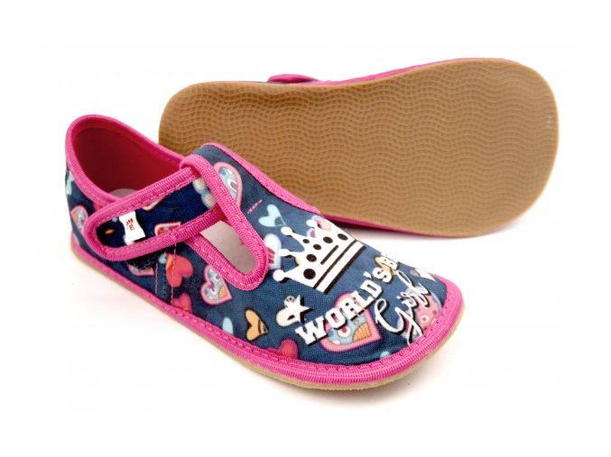Ef barefoot 395 Niebesky World Girl