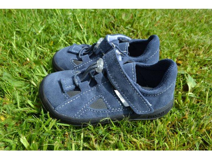 Jonap barefoot sandálky B9 S modrá