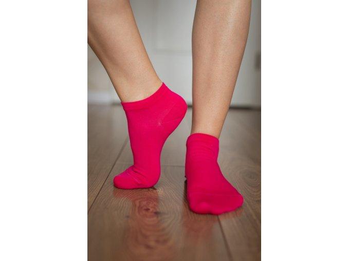 barefoot ponozky kratke ruzove 2265 size large v 1