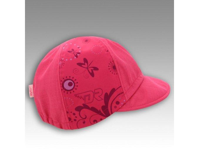 Kšiltovka softshell - vzor 03 růžová