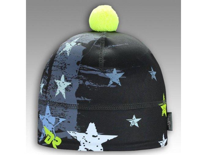 Flavio - zimní funkční čepice - vzor 22