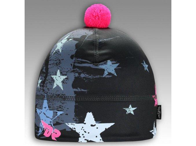 Flavio - zimní funkční čepice - vzor 39