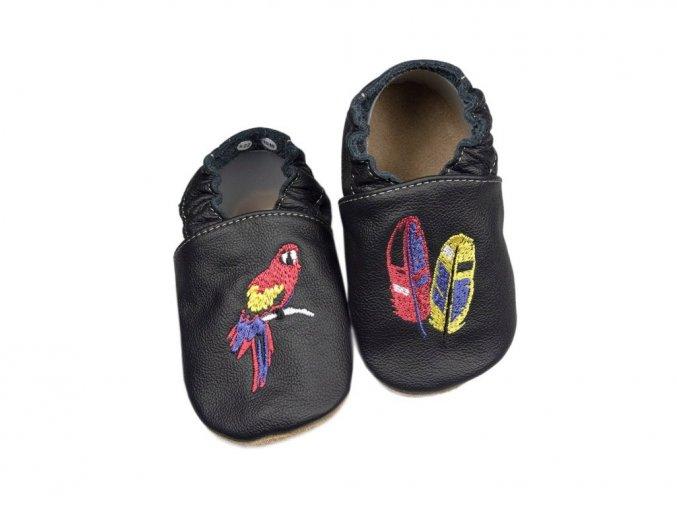 baBice barefoot capáčky - EM-035 / papoušek